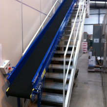 400mm wide incline belt conveyor