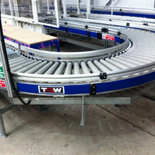 600mm wide gravity Roller Conveyor