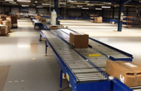 UNI-XU60 Powered Roller Conveyor System | Active Handling Systems