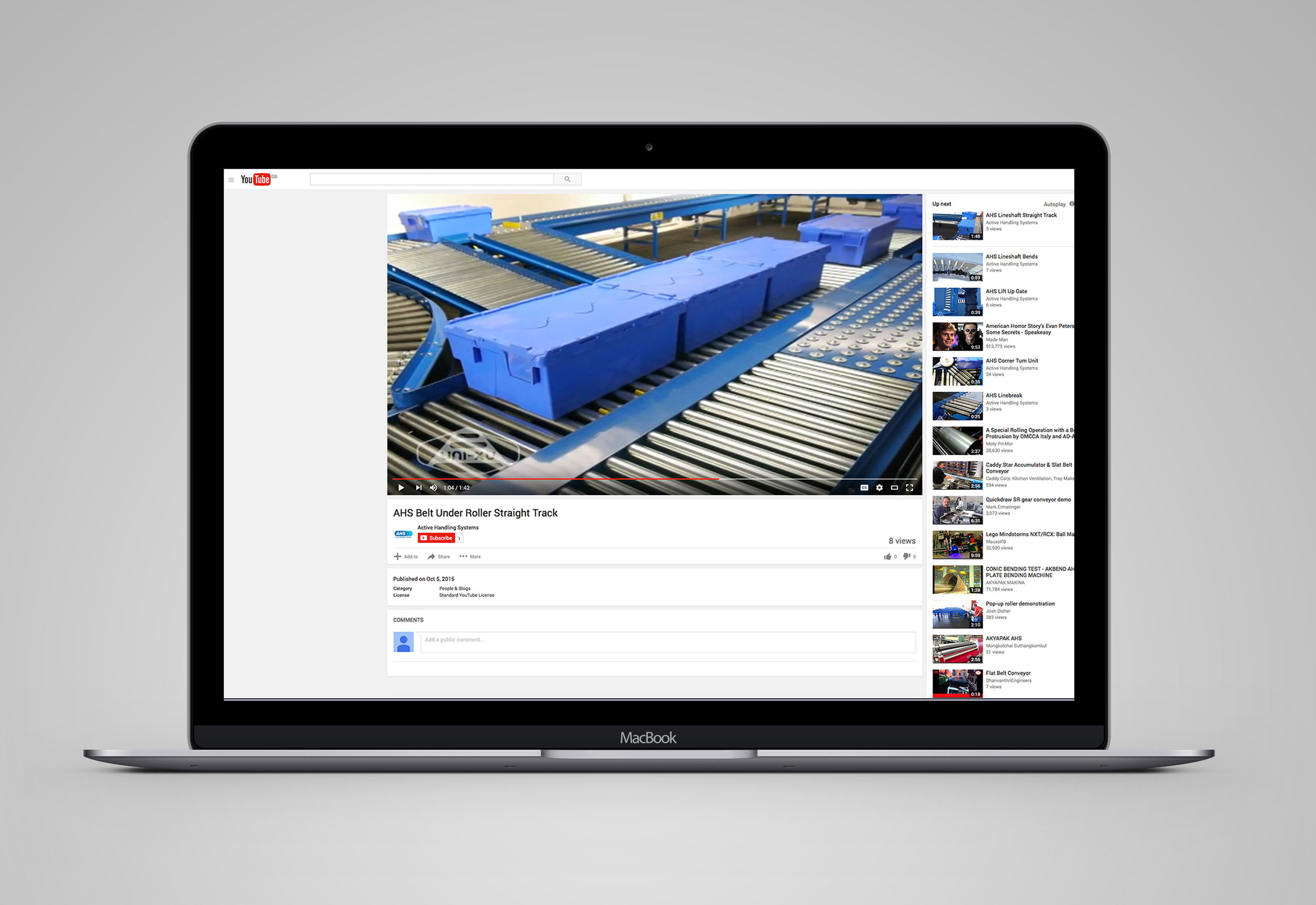 Youtube Mockup Active Handling Systems