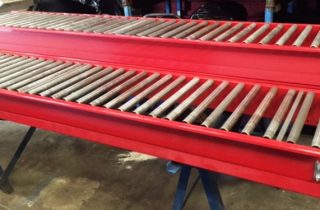 Dexion 500mm wide Gravity Roller Conveyor